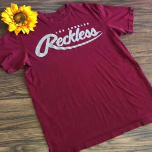 🎉5/$25 Men's Young & Reckless Shirt MEDIUM